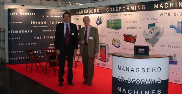Manassero Fastener Machines at Wire 2012